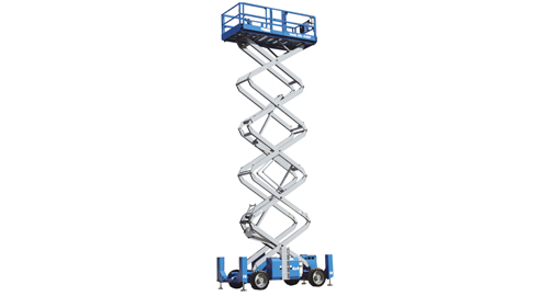 Rough Terrain Scissor Lift Rental | Dayim Equipment Rental